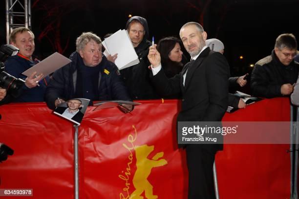 Actor Mark Ivanir attends the 'Bye Bye Germany' premiere during the 67th Berlinale International Film Festival Berlin at FriedrichstadtPalast on...