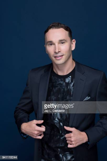 Actor Mark Jackson from of 'The Orville', is photographed for Los Angeles Times on March 17, 2018 at the PaleyFest at the Dolby Theatre in Hollywood,...