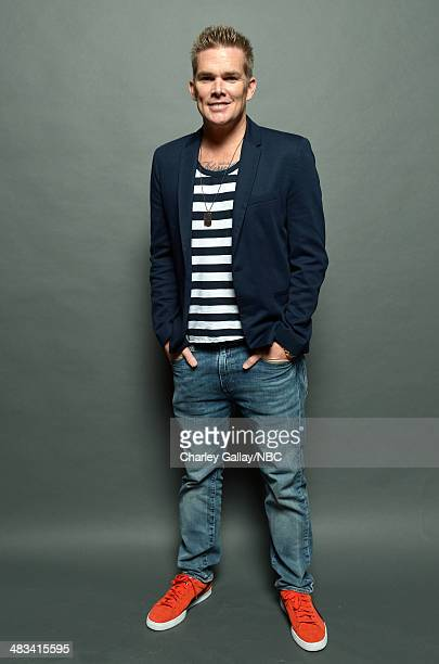 Actor Mark McGrath poses for a portrait during the 2014 NBCUniversal Summer Press Day at The Langham Huntington on April 8, 2014 in Pasadena,...
