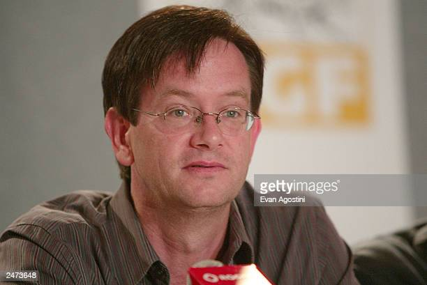 Actor Mark McKinney participates in the 'The Saddest Music In The World' media conference during the 2003 Toronto International Film Festival at the...
