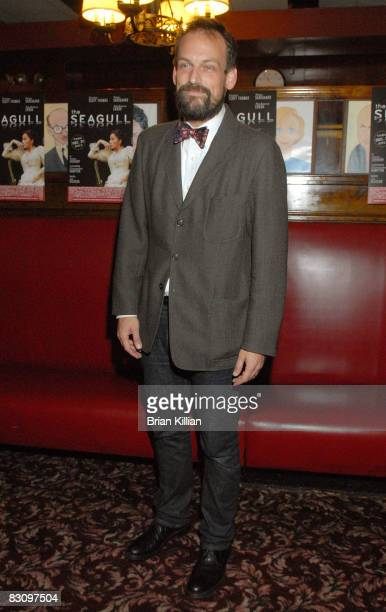 Actor Mark Montgomery attends the after party for the opening night of The Seagull on Broadway at Sardi's on October 2 2008 in New York City