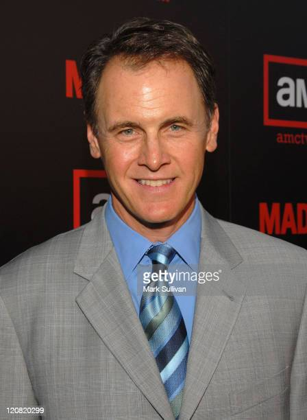 Actor Mark Moses arrives at The Second Season Of Mad Men premiere on July 21 2008 in Hollywood California