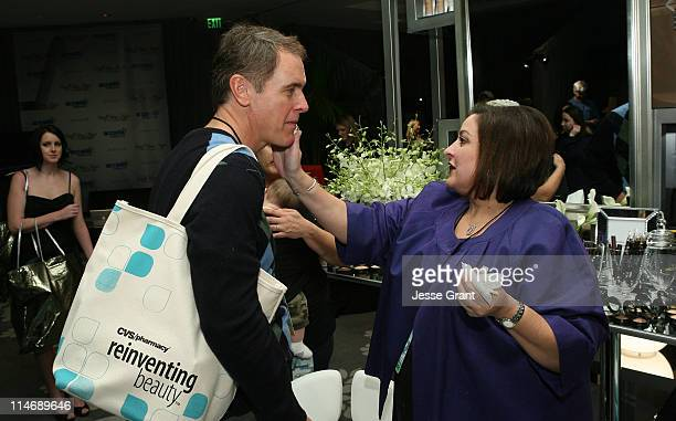 Actor Mark Moses attends the CVS Pharmacy Reinventing Beauty Bar at the Access Hollywood 'Stuff You Must' Lounge produced by On 3 Productions held at...
