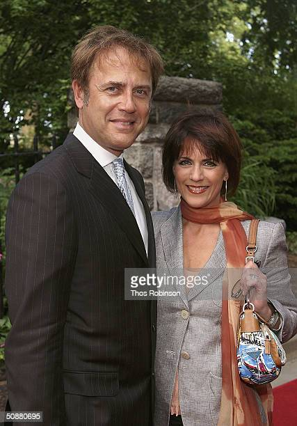 Actor Mark Pinter and Actress Colleen Zenk Pinter attend the Reception For The 31st Annual Daytime Emmy Awards Hosted By Mayor Bloomberg at the...