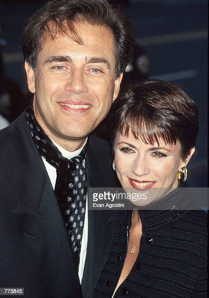 Actor Mark Pinter and an unidentified woman attend the 7th Annual Soap Opera Update Awards September 29 1996 in New York City Soap Opera Update is...