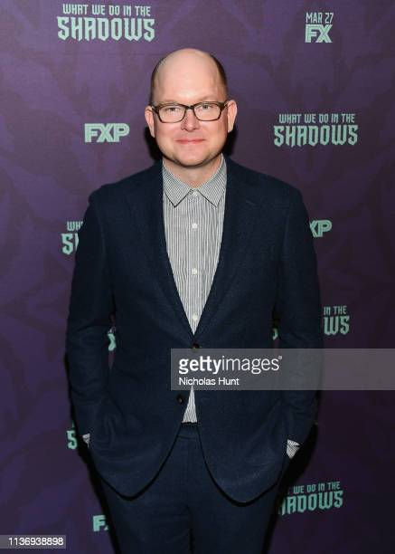 """Actor Mark Proksch attends the """"What We Do In The Shadows"""" New York Premiere at Metrograph on March 19, 2019 in New York City."""