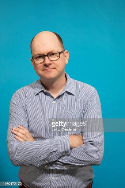 Actor Mark Proksch of 'What We Do in the Shadows' is photographed for Los Angeles Times at Comic-Con International on July 20, 2019 in San Diego,...