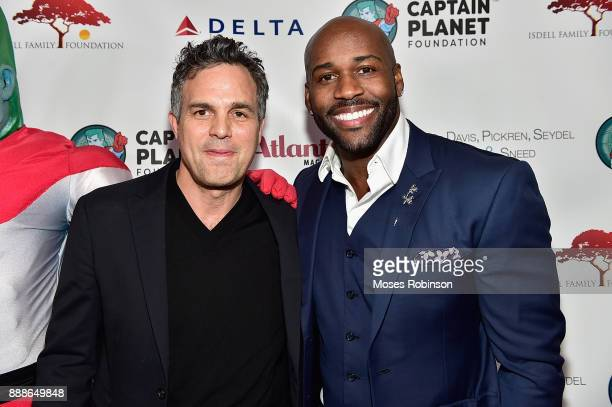 Actor Mark Ruffalo and Dolvett Quince attend the 2017 Captain Planet Foundation Gala at InterContinental Hotel Buckhead Atlanta on December 8 2017 in...