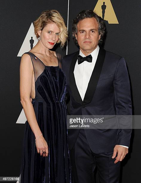 Actor Mark Ruffalo and wife Sunrise Coigney attend the 7th annual Governors Awards at The Ray Dolby Ballroom at Hollywood Highland Center on November...
