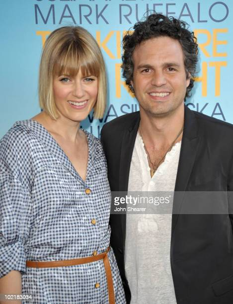 """Actor Mark Ruffalo and wife Sunrise Ruffalo arrive at """"The Kids Are All Right"""" premiere during the 2010 Los Angeles Film Festival held at Regal..."""