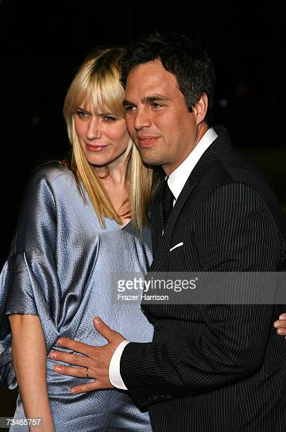 Actor Mark Ruffalo and wife Sunrise Ruffalo arrives at the Paramount Pictures' Premiere Of 'Zodiac' held at Paramount Studios on March 12007 in Los...