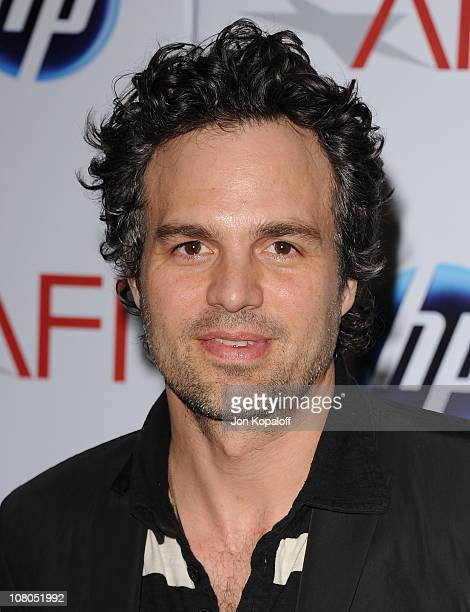 Actor Mark Ruffalo arrives at the 2011 AFI Awards at The Four Seasons Hotel on January 14, 2011 in Beverly Hills, California.