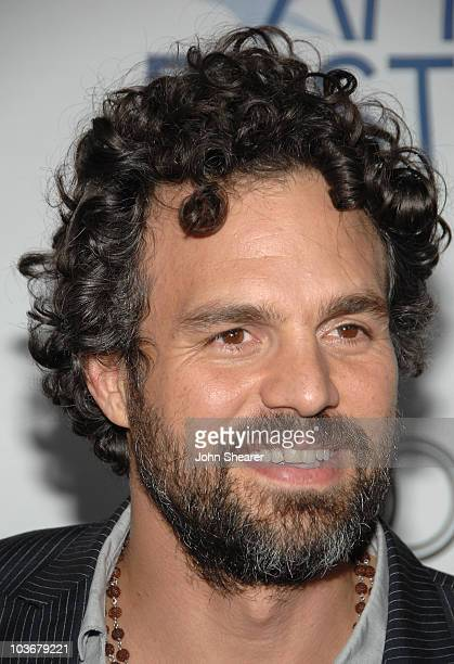 Actor Mark Ruffalo arrives at the AFI Film Festival screening of The Brothers Bloom at ArcLight Cinemas on November 3 2008 in Hollywood California
