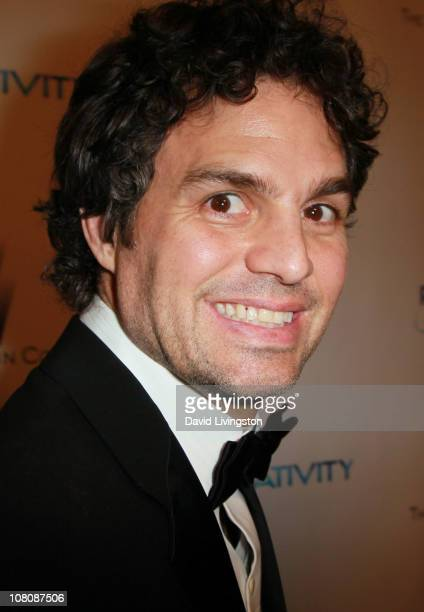 Actor Mark Ruffalo arrives at The Weinstein Company And Relativity Media's 2011 Golden Globe Awards Party held at The Beverly Hilton hotel on January...