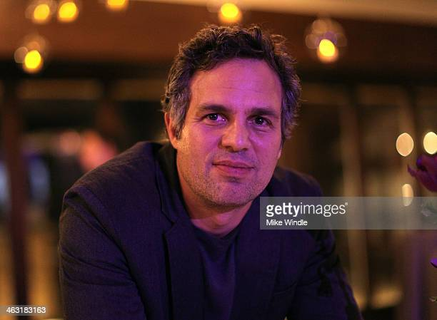 Actor Mark Ruffalo attends An Artist at the Table Dinner Program during the 2014 Sundance Film Festival at Stein Eriksen Lodge on January 16 2014 in...