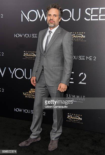 Actor Mark Ruffalo attends 'Now You See Me 2' World Premiere at AMC Loews Lincoln Square 13 theater on June 6 2016 in New York City