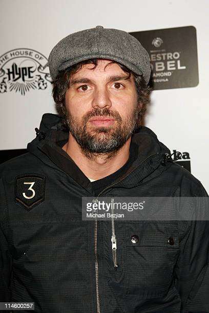 Actor Mark Ruffalo attends Onitsuka Tiger and Maestro Dobel Tequila Presents Sympathy For Delicious Cast Dinner At House Of Hype on January 24 2010...