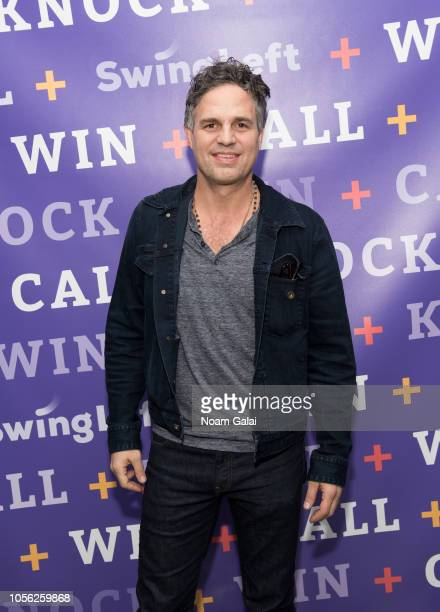 Actor Mark Ruffalo attends Swing Left's 'The Last Weekend' Election Rally at Cooper Union on November 1 2018 in New York City
