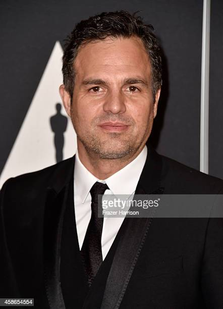 Actor Mark Ruffalo attends the Academy Of Motion Picture Arts And Sciences' 2014 Governors Awards at The Ray Dolby Ballroom at Hollywood Highland...