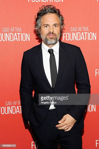 Actor Mark Ruffalo attends the Screen Actors Guild Foundation 30th Anniversary Celebration at Wallis Annenberg Center for the Performing Arts on...