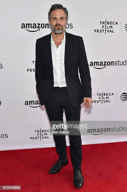 Actor Mark Ruffalo attends the Tribeca Talks Directors Series Joss Whedon with Mark Ruffalo event during the 2016 Tribeca Film Festival at SVA...