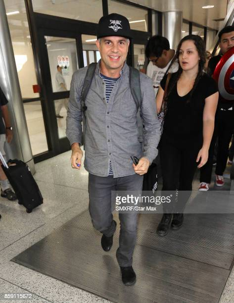Actor Mark Ruffalo is seen on October 8 2017 in Los Angeles California