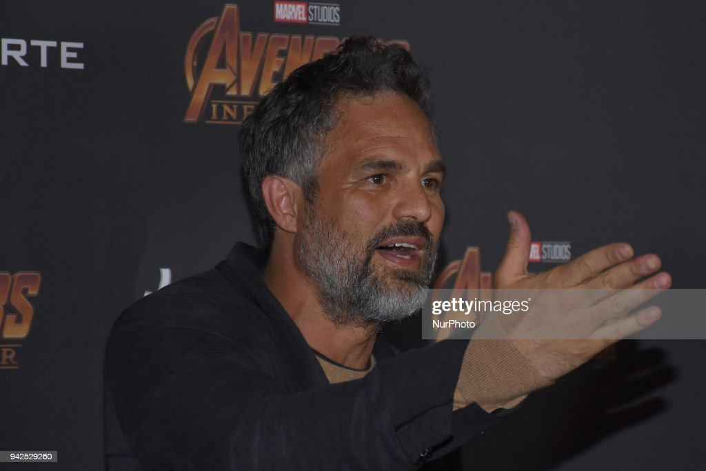 Avengers Infinity War - Press Conference : News Photo