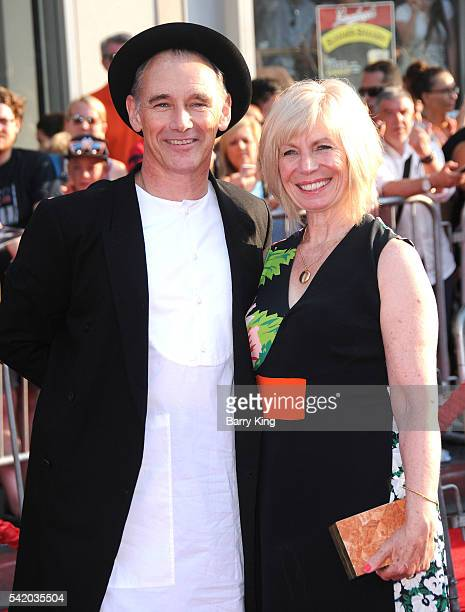 Actor Mark Rylance and wife Claire van Kampen attend the premiere of Disney's' 'The BFG' at the El Capitan Theatre on June 21 2016 in Hollywood...