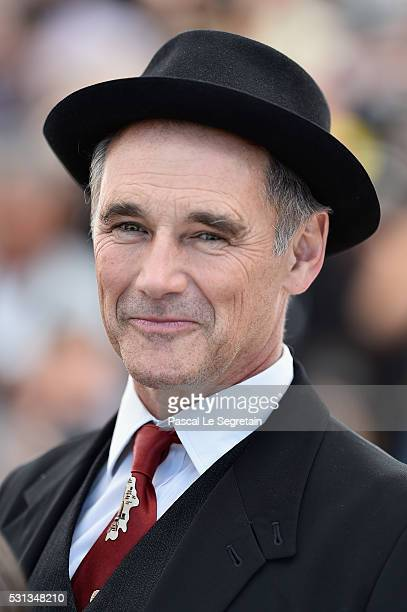 Actor Mark Rylance attends The BFG photocall during the 69th annual Cannes Film Festival at the Palais des Festivals on May 14 2016 in Cannes France