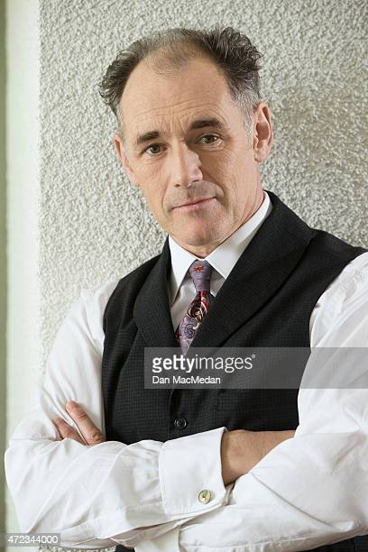 Actor Mark Rylance is photographed for USA Today on January 19 2015 in Pasadena California