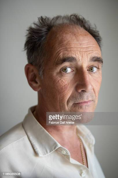 Actor Mark Rylance poses for a portrait on September 7 2019 in Venice Italy