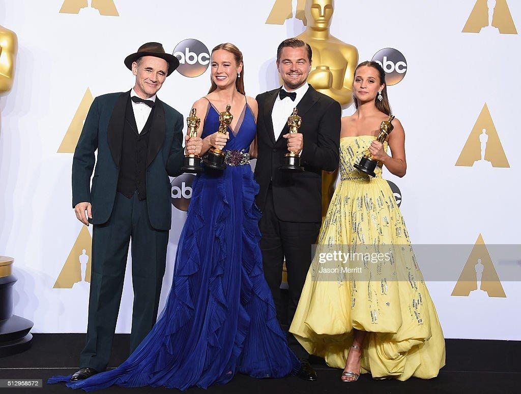 88th Annual Academy Awards - Press Room : News Photo