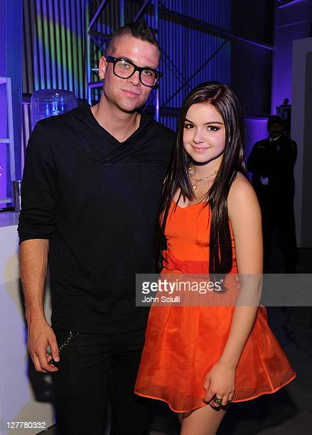 Actor Mark Salling and Actress Ariel Winter attend the Samsung Infuse 4G For ATT Launch Event Featuring Nicki Minaj held at Milk Studios on May 12...
