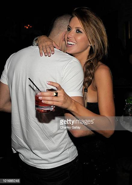 Actor Mark Salling and television personality Audrina Patridge attend the Katy Perry California Gurls post Movie Awards Party at John Terzian and...
