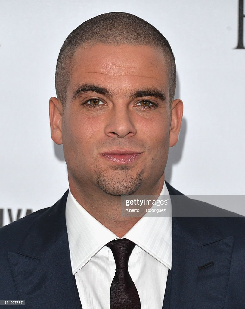 Actor Mark Salling arrives at amfAR's Inspiration Gala at Milk Studios on October 11, 2012 in Hollywood, California.