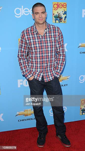 """Actor Mark Salling arrives at """"Glee"""" Season 2 Premiere Screening And Party at Paramount Studios on September 7, 2010 in Hollywood, California."""