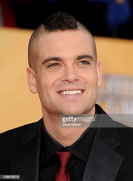 Actor Mark Salling arrives at the 17th Annual Screen Actors Guild Awards held at The Shrine Auditorium on January 30 2011 in Los Angeles California