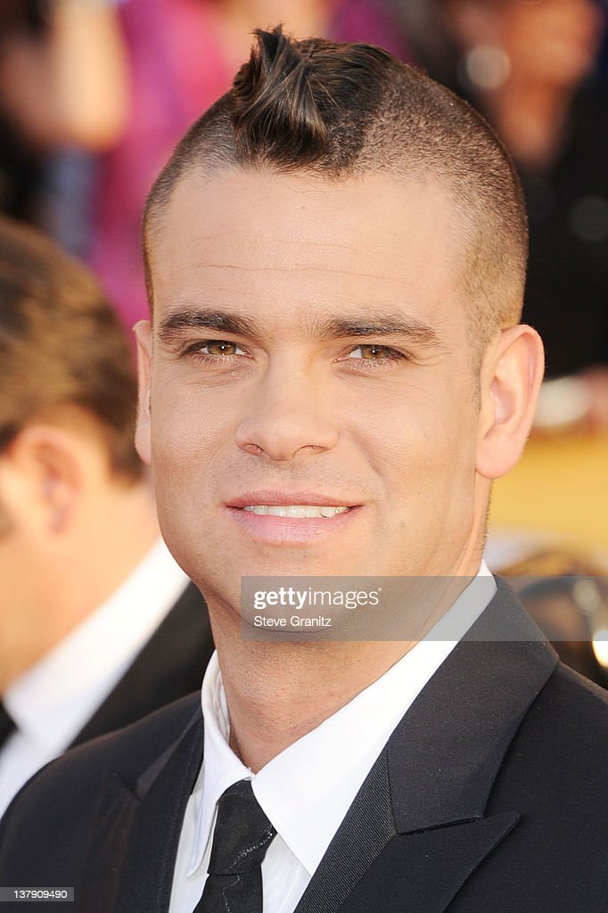 Actor Mark Salling arrives at the 18th Annual Screen Actors Guild Awards held at The Shrine Auditorium on January 29, 2012 in Los Angeles, California.
