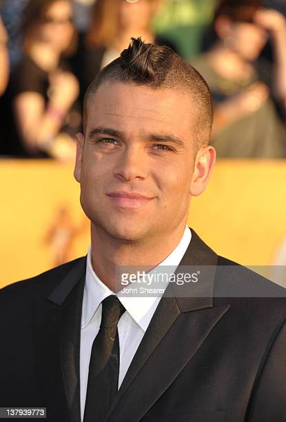 Actor Mark Salling arrives at The 18th Annual Screen Actors Guild Awards broadcast on TNT/TBS at The Shrine Auditorium on January 29 2012 in Los...