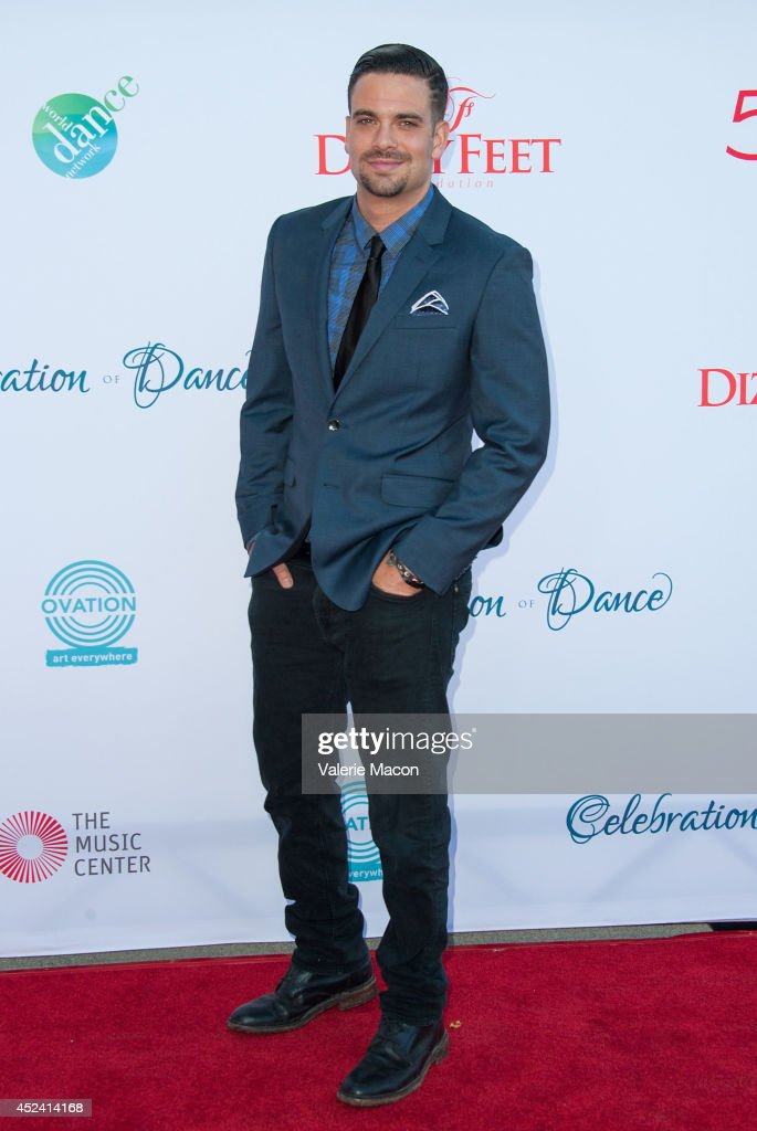 Actor Mark Salling arrives at the 4th Annual Celebration Of Dance Gala Presented By The Dizzy Feet Foundation at Dorothy Chandler Pavilion on July 19, 2014 in Los Angeles, California.