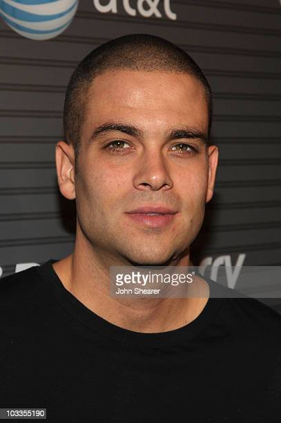 Actor Mark Salling arrives at the BlackBerry Torch from ATT US Launch Party on August 11 2010 in Los Angeles California