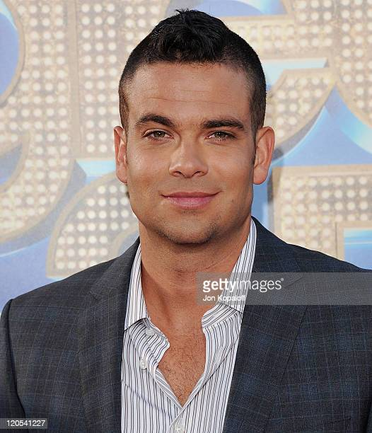 """Actor Mark Salling arrives at the Los Angeles Premiere """"GLEE: The 3D Concert Movie"""" at Regency Village Theatre on August 6, 2011 in Westwood,..."""