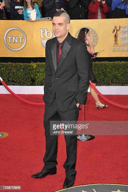 Actor Mark Salling arrives at the TNT/TBS broadcast of the 17th Annual Screen Actors Guild Awards held at The Shrine Auditorium on January 30 2011 in...