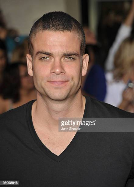 Actor Mark Salling arrives at The Twilight Saga New Moon premiere held at the Mann Village Theatre on November 16 2009 in Westwood California