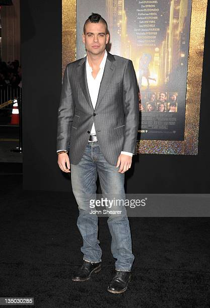 Actor Mark Salling arrives to the Premiere Of Warner Bros Pictures' New Year's Eve at Grauman's Chinese Theatre on December 5 2011 in Hollywood...