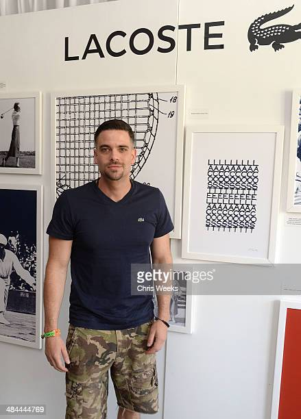 Actor Mark Salling attends Day 1 of the LACOSTE Beautiful Desert Pool Party on April 12 2014 in Thermal California