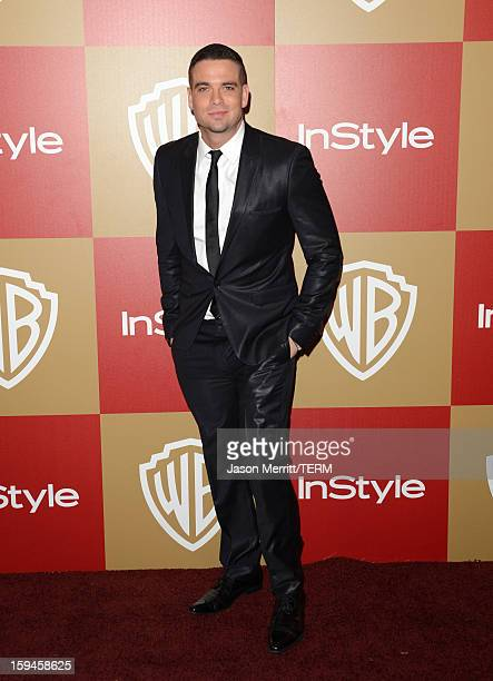Actor Mark Salling attends the 14th Annual Warner Bros And InStyle Golden Globe Awards After Party held at the Oasis Courtyard at the Beverly Hilton...