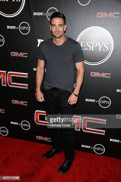 Actor Mark Salling attends the Body at ESPYS PreParty at Lure on July 15 2014 in Hollywood California