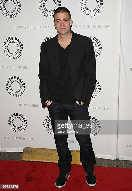 Actor Mark Salling attends the 'Glee' event at the 27th annual PaleyFest at Saban Theatre on March 13 2010 in Beverly Hills California