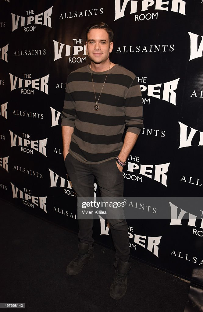 Actor Mark Salling attends The Official Viper Room Re-Launch Party With Performance By X Ambassadors, Dj Set By Zen Freeman at The Viper Room on November 17, 2015 in West Hollywood, California.
